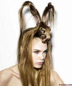 Animals Look hairstyle- Springbok