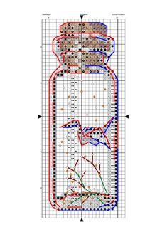 Small Cross Stitch, Cross Stitch Needles, Cross Stitch Bird, Beaded Cross Stitch, Crochet Cross, Cross Stitching, Cross Stitch Embroidery, Embroidery Patterns, Cross Stitch Bookmarks