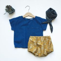 Bloomer liberty Atelier Greta Oto, top Zara kids, baby clothing, babylook, baby outfit, kids fashion, Made in France