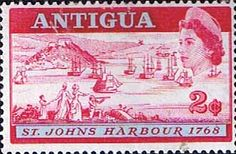 Postage Stamps Antigua 1968 Opening of St Johns Deep Water Harbour SG 221 Fine Mint SG 221 Scott 208 Other British Commonwealth Empire and Colonial Stamps Here