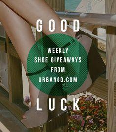 Weekly free shoes giveaway. I hope I win!