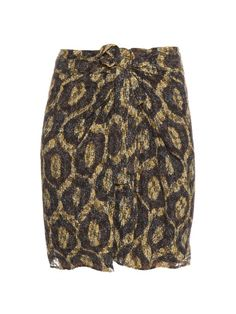 Isabel Marant Tilia twist-front mini skirt
