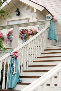 Grand Opening railing idea by Andy Beach Assoc