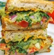 Guacamole Grilled Cheese Sandwich-1