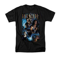 Farscape - Comic Cover Adult Regular Fit T-Shirt