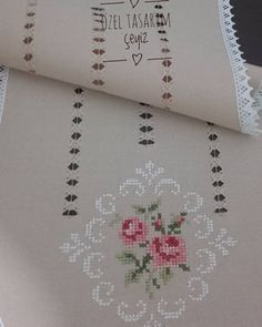 uploaded this image to 'my hardanger'. Cross Stitch Rose, Cross Stitch Embroidery, Hand Embroidery, Embroidery Designs, Cross Stitch Designs, Cross Stitch Patterns, Hem Stitch, Drawn Thread, Sewing Studio