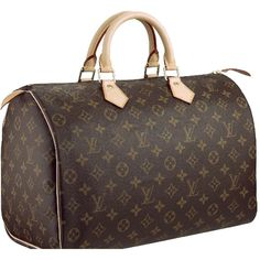 "Louis Vuitton Monogram Speedy Bag - 11 Designer Classic Bags You Should Have . Louis Vuitton have never been more popular than they are right now. But believe it or not, Louis Vuitton Mongram Speedy Bags have been the ""it"" bags for over 50 years now. Louis Vuitton Speedy 30, Louis Vuitton Monograme, Louis Vuitton Handbags, Vuitton Bag, Christian Audigier, Handbags Online, Purses And Handbags, Nice Handbags, Big Purses"