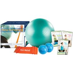 Stott Pilates Pregnancy Workout Kit - - Four accessories, three DVDs and over 90 minutes of programming – everything you need to stay fit and feel great during and after pregnancy! The versa Prenatal Pilates, Pregnancy Pilates, Post Pregnancy Workout, Baby Workout, Post Natal Pilates, Tracy Anderson Method, Body After Baby, Pilates Clothes, Pilates Video