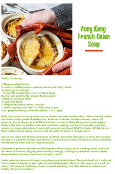 Goat Recipes, Fresh Thyme, Soup And Sandwich, Onion Soup, French Onion, Unsalted Butter, Dinner Tonight, Full Moon, How To Stay Healthy