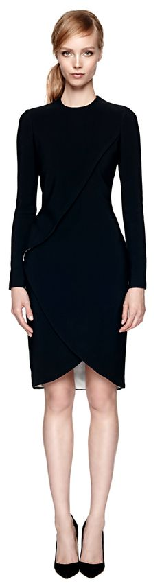 Givenchy ● Draped Wrap Dress