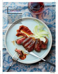 HUMBLE CERAMICS spotted in Food & Wine Magazine - March 2104