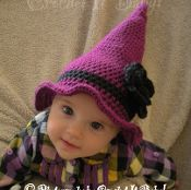 Witch's Party Hat - 4 Sizes - via @Craftsy