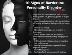 http://www.angelabchrysler.com/living-with-bpd/ I've had many a people come to me asking what exactly BPD is (Borderline Personality Disorder). There is a lot of reading material out there. There is Walking On Egg Shells, which is for those who live with someone diagnosed with BPD... but it still is only applicable to certain symptoms of BPD. Explosive anger and rage. In my case, I do not have this symptom. But little... #bpd #broken #ptsd