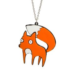 Katie Abey For Fox Sake Necklace