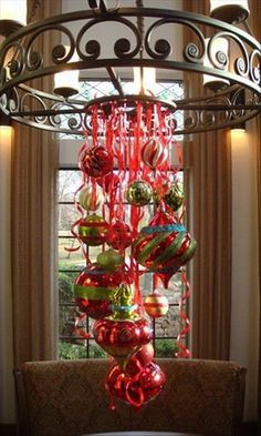 Love this idea.  Saw it at another Christmas party and tried to copy it at my house.  So cute!