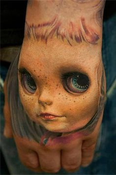 Impresionantes tatuajes que dan miedo                              …