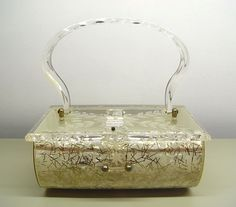 Charles S Kahn lucite purse.my collection