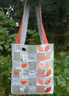 Mouthy Stitches Bag by shecanquilt, via Flickr