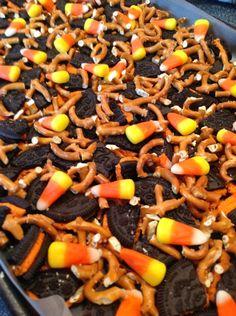 Oreo Halloween Bark | I cook... He eats