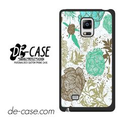 Retro Floral DEAL-9227 Samsung Phonecase Cover For Samsung Galaxy Note Edge