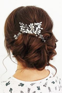 Bridesmaid Updos And#8211; Elegant And Chic Hairstyles ❤ See more: #weddingforward #bride #bridal #wedding