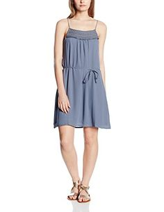 ccd1a75a7d Vila Women's 14034754 Sleeveless Dress - Blue - 10