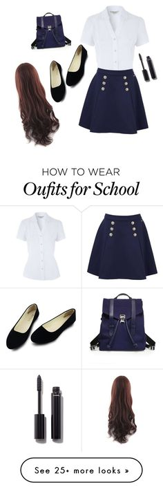 """First Day Of Prepatory School"" by hvhpony on Polyvore featuring Tommy Hilfiger, Proenza Schouler and Chanel"