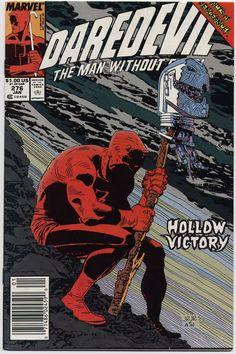 Daredevil 276  Marvel Comic books  coverPeter Parker web  by John Romita Jr