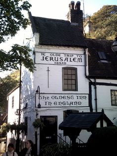 Said to be the oldest pub in England, Nottinghamshire