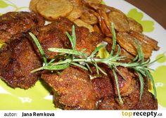 Pečená drůbeží játra recept - TopRecepty.cz Tandoori Chicken, Chicken Recipes, Food And Drink, Dinner, Ethnic Recipes, Cooking, Recipes, Dining