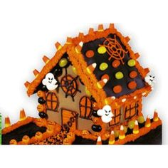 120 best gingerbread house halloween images on pinterest rh pinterest com gingerbread house kits walmart gingerbread