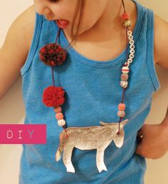 Your Favorite Animal Necklace