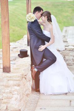 Wedding couple :). Me and my husbend.  | photo: Radek Fouček (www.radekfoucek.cz)