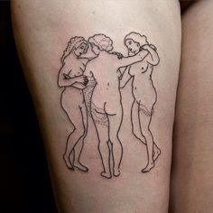 by @taticompton #stickandpoke #handpoke #tattoo #тату