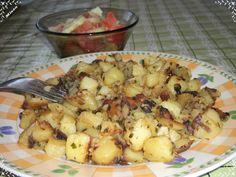 Czech Recipes, Ethnic Recipes, Potato Salad, Cauliflower, Potatoes, Meat, Chicken, Vegetables, Cooking