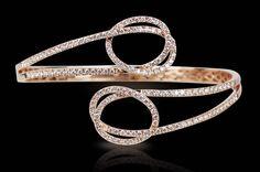 KAVANT & SHARART- love knot  rose gold and diamond