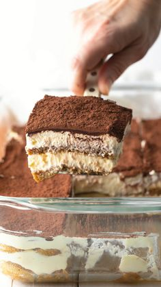 The Best Easy Tiramisu Recipe: Learn How To Make Tiramisu, the simple way, just like it's made in Italy! What is Tiramisu? Fun Baking Recipes, Easy Cake Recipes, Easy Desserts, Sweet Recipes, Cookie Recipes, Delicious Desserts, Dessert Recipes, Snack Recipes, Yummy Food