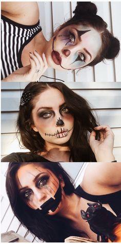 Halloween makeup inspo. #halloweenmakeup #halloweeninspo
