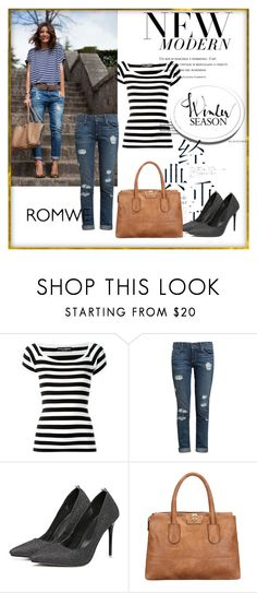 """""""Romwe #5/2"""" by almma-karic ❤ liked on Polyvore featuring Dolce&Gabbana, Paige Denim and romwe"""