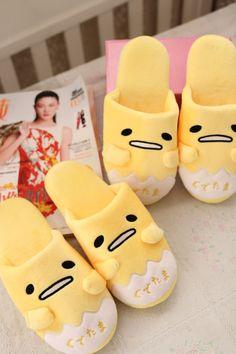 Felpa linda de 1 par de animación de dibujos animados gudetama perezoso huevo divertido invierno zapatillas de piso casa de vacaciones muchacha del juguete de regalo en De peluche y Felpa Animales de Juguetes y Pasatiempos en AliExpress.com | Alibaba Group