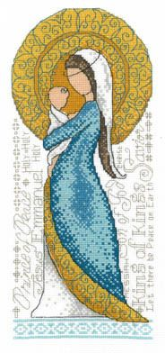 Mother And Child (Mary and Jesus) - Cross Stitch Pattern by Diane Arthurs of Imaginating
