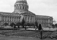 A 1943 Victory garden planted in front of San Francisco City Hall was one of many used for food production in cities around the country during World War II. Photo courtesy of Amy Franceschini Victory Garden, Garden Photos, Urban Farming, Garden Planning, Northern California, Garden Projects, Garden Plants, Outdoor Gardens, Victorious
