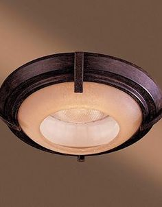 """Turn basic recessed lighting into a stylish decor statement with the Raiden Iron Oxide 6"""" Recessed Trim Light; a handsome finishing touch for your home."""