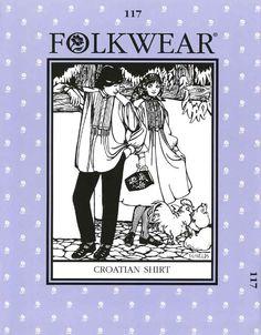 Patterns - Folkwear #117 Croatian Shirt