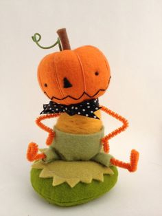 percy the pumpkin boy by lagreen on Etsy