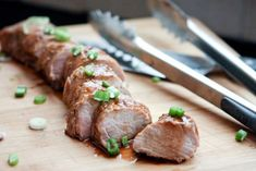 This Slow Cooker Asian Citrus Pork Tenderloin recipe is a perfect addition to your family's weekly menu. It's easy to make, and full of flavor. A nice change from chicken! Pork Tenderloin Recipes, Pork Recipes, Slow Cooker Recipes, Crockpot Recipes, Cooking Recipes, Slow Cooking, Cooking Rice, Cooking Salmon, Pork Cooking Temperature