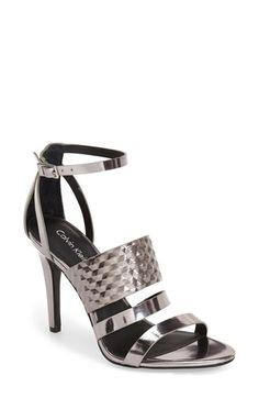 Calvin Klein 'Mayra' Cage Sandal (Women)