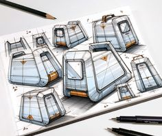 Sketches & Illustrations 2020 (Part 1) on Behance