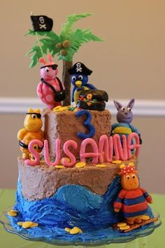 Backyardigans Pirate Cake