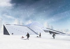 Sports and Educational Center – NOMS – Architectural Studio Opera House, Louvre, Education, Studio, Architecture, Building, Sports, Travel, Arquitetura